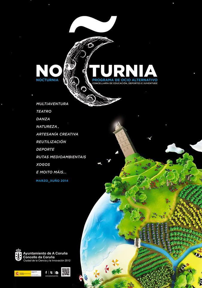 REC label en NOCTURNIA (A Coruña)