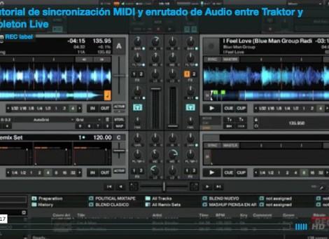 Tutorial de sincronización y enrutado de audio entre Traktor y Ableton Live