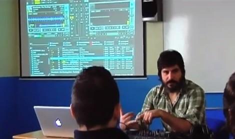 Masterclass en la Escuela de Imagen y Sonido de Vigo